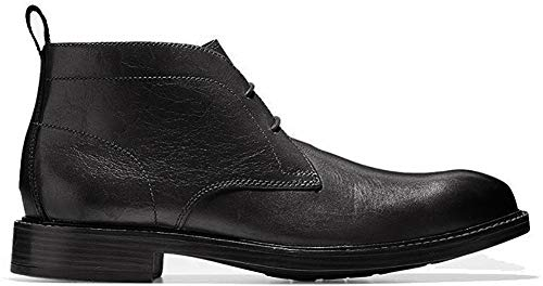 Cole Haan Men's Kennedy Grand Chukka Waterproof Boot, Black wp, 10 M US