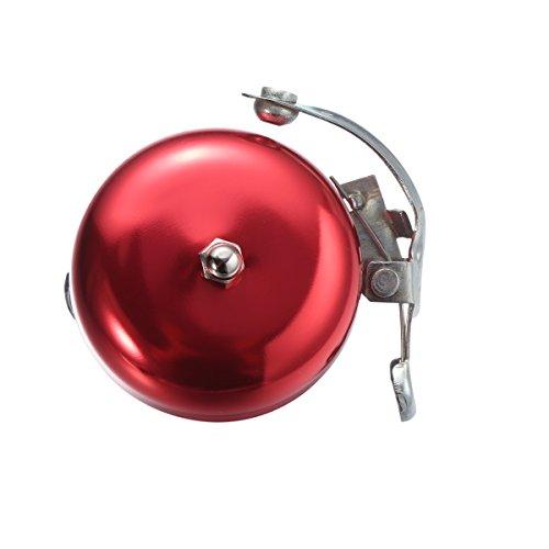 CLISPEED Campanello per Bicicletta Vintage in Rosso