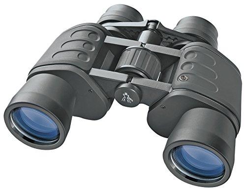 Bresser Hunter 8x40 Porro Fernglas (mit Mitteltrieb, robuster Gummiarmierung und vollvergüter Optik inklusive Umhängegurt und Transporttasche)