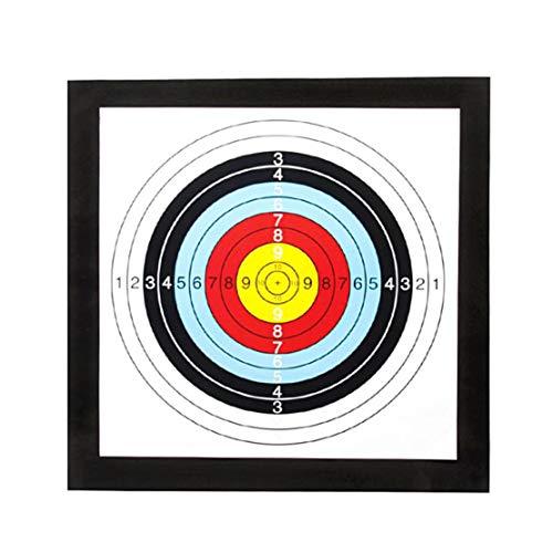 Mikelabo Lightweight Archery Self Healing Foam Target Boss Archery Targets Eva Archery Target Stand Foam Archery Target With 10 Faces