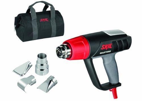 Skil Masters Heißluftpistole 8007 MA (2.000W, LCD Temperatureinstellung, 4m Kabel, 4 tlg. Zubehörset, +Tasche)