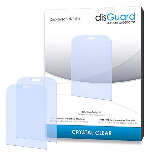 disGuard® Bildschirmschutzfolie [Crystal Clear] kompatibel mit Audioline MT 1000 [4 Stück] Kristallklar, Transparent, Unsichtbar, Extrem Kratzfest, Anti-Fingerabdruck - Panzerglas Folie, Schutzfolie