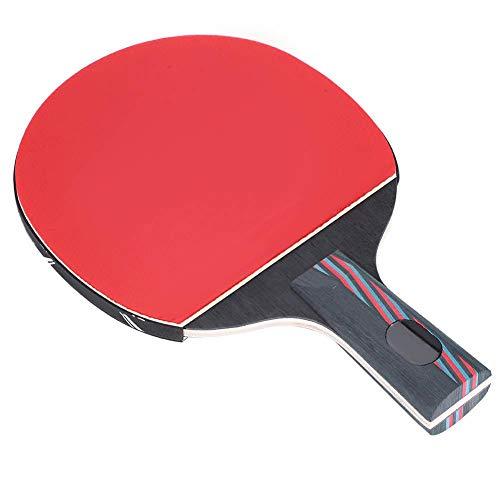 Alomejor 1 Pc Ping Pong Bat Profesional de Mesa de Madera Ping Pong Bat para el Entrenamiento y la Práctica de Tenis de Mesa(Penhold)
