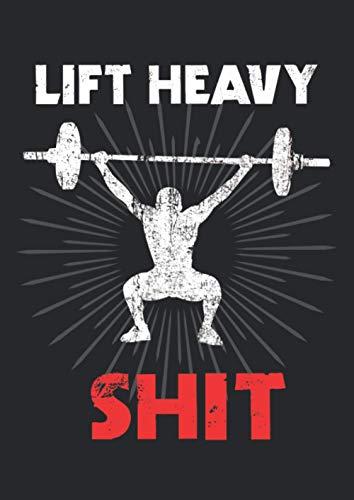 Notizbuch A4 dotted, gepunktet, punktiert mit Softcover Design: Bodybuilder Fitness Training Gym Geschenk Fitnessstudio: 120 dotted (Punktgitter) DIN A4 Seiten