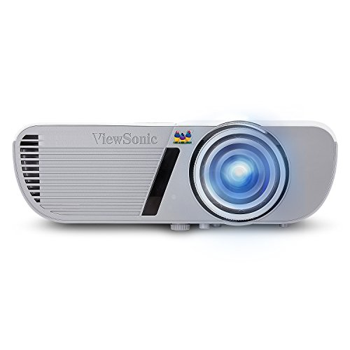 ViewSonic PJD5553LWS 3200 Lumens WXGA HDMI Short Throw Projector, One Size, White
