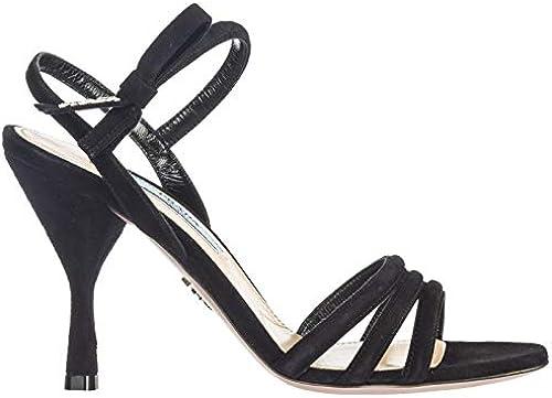 Prada Damen - Sandalen schwarz