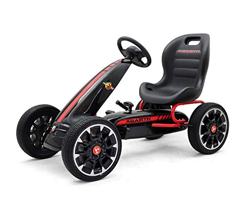 Milly Mally Abarth Pedal Go-kart Rider