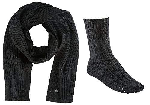 BIRKENSTOCK X-mas Bling Gift Box Scarf & Socks W Black
