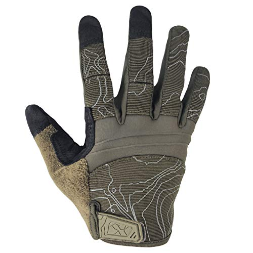 Touch Screen Full Finger Dexterity Tactical Gloves for Shooting Motorcycle