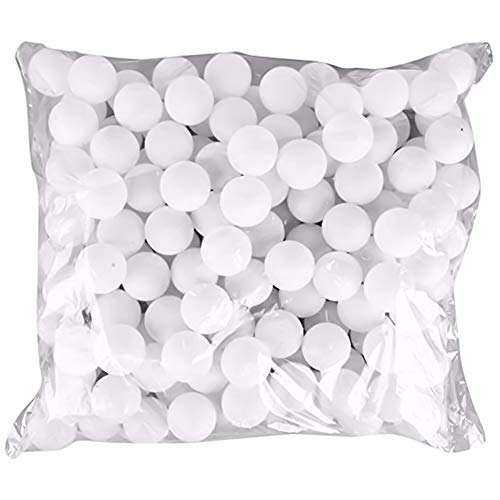 Pack of 150 38 mm Ping Pong Balls Practice Table Tennis Ball Replacement Practice Sport for Parties