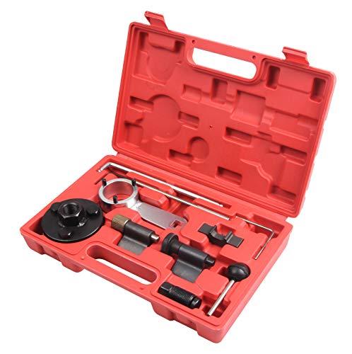 LLCTOOLS Zahnriemen Wechsel Werkzeug passend für 1,6/2,0 L TDI 10-TLG.