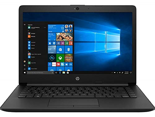 HP 14 Intel Core Pentium Gold Processor 14-inch Thin and Light Laptop (4GB/256GB SSD/Windows 10 Home/Jet Black/1.47 kg), 14q-cs0018TU