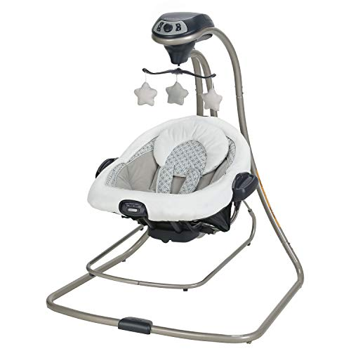 Graco DuetConnect LX Baby Swing and Bouncer, McKinley