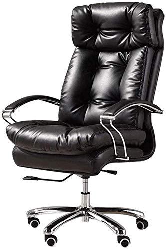 Sillas de escritorio de oficina, silla de jefe, silla ergonómica para juegos de computadora, sillón reclinable con reposapiés Sillón