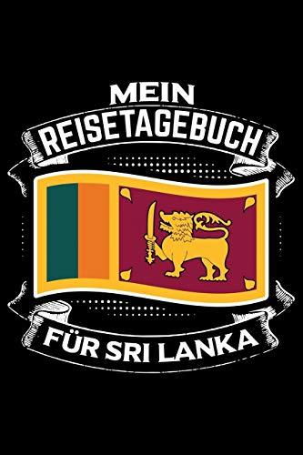 Mein Reisetagebuch für Sri Lanka: Liniertes DinA 5 Notizbuch Reisetagebuch für Reise und Urlaub-Fans