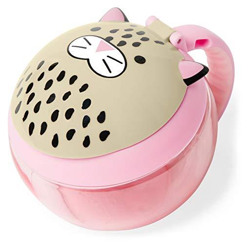 Skip Hop Copo para lanche infantil, leopardo (descontinuado pelo fabricante)