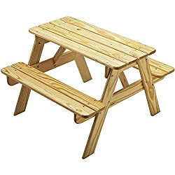 Little Colorado Child's Picnic Table - Kids Wooden Picnic Table