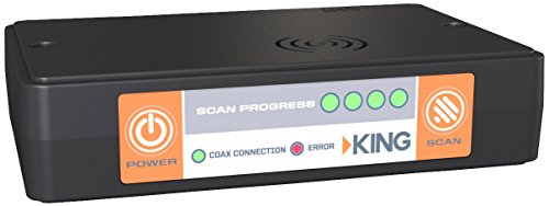 KING UC1000 universele controller voor Make Quest-antenne, compatibel met DIRECTV, Bell, of Dish-ontvangers door