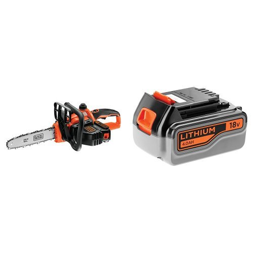Black+Decker, Motosega a batteria al litio 18 V