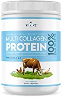 Multi Collagen Protein Powder - 5 Types of Food Sourced Collagen Peptides - Hydrolysed Grass Fed Bovine, Wild Caught...