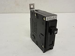 Square D BAB1020 Quicklag Circuit Breaker, 20A, 1P, 120/240VAC