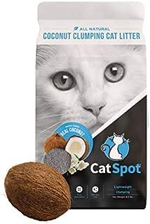 CatSpot Litter, Clumping Formula: Coconut Cat Litter, All-Natural, Lightweight & Dust-Free