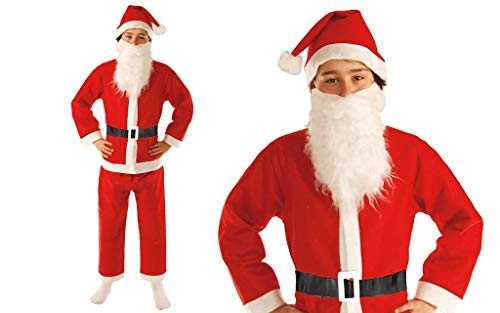 GUIRMA Costume Bambino da Babbo Natale Economico Bimbo