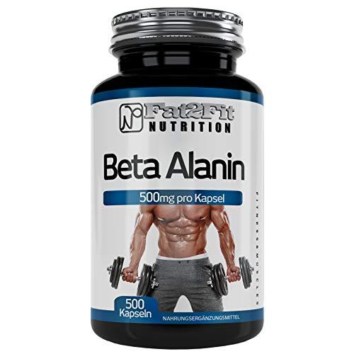 Beta Alanin 500 mg - 500 capsule - L'alternativa conveniente
