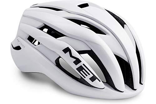 Met-Rx Trenta, Casco da Bicicletta. Unisex-Adulto, Bianco, S