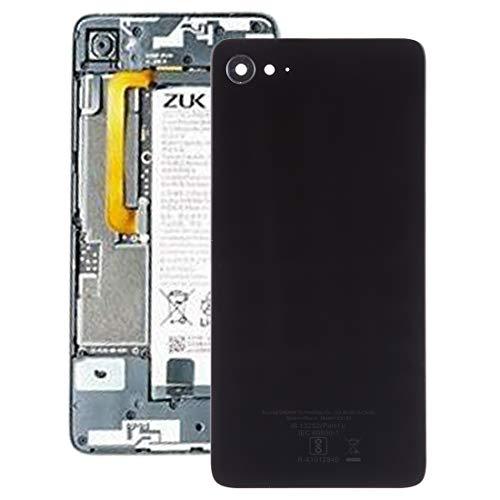 Caparazón de Vuelta batería del teléfono móvil La batería Cubierta Trasera for Lenovo ZUK Z2 (Negro) (Color : Black)