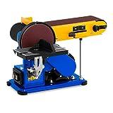 MSW Lijadora Combinada Con Salida Para Aspiradora MSW-DS375 (375 W, 1.450 rpm, Ø 150 mm, Cinta abrasiva 914 mm / 100 mm, Mesa de trabajo 190 x 125 mm)