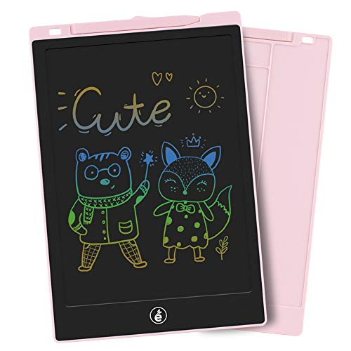 Sunany LCD Writing Tablet 11-Inch Doodle Board,Drawing Board Colorful Kids Drawing Tablet Drawing Pad,Writing and Learning Scribble Board Toys Gift for Girls and Boys(Pink)