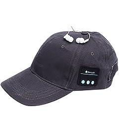 Earphone Hat Wireless Headphones Baseball Headset Speaker Mic Bluetooth Headset Hat