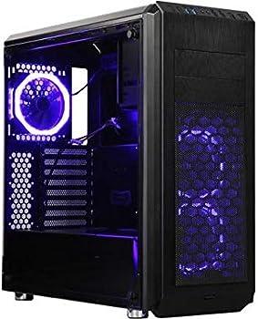 DIYPC Vanguard-V6-RGB ATX / Micro ATX / Mini-ITX Mid Tower Computer Case
