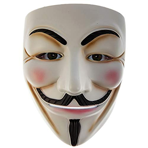 Gmasking 2019 V for Vendetta Guy Fawkes Anonymous Mask Full Size Exclusive Replica