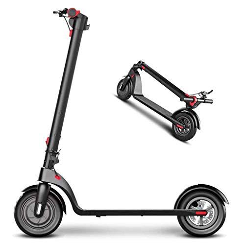 A&DW Smart E-Scooter,intelligent mit Elektroroller-LED-Zentralsteuerungsanzeige, 8,5-Zoll-Anti-Rutsch-Reifen und DREI-Gang-Schaltung, bis zu 15,5 MPH, 350 W Hochleistung, 36 V