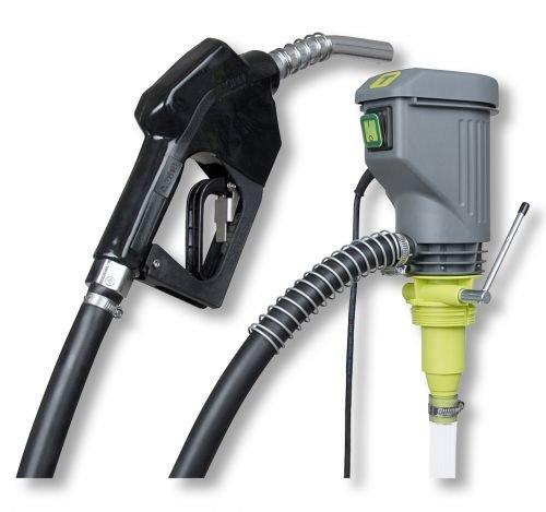 Dieselpumpe HORNET W40A 230V kpl. Set Horn f. Diesel, Heizöl EL/L, Kühlerfrostschutzmittel (Konzentrat) W 40A mit Saugschlauch, 4m Abgabeschlauch und Automatik-Zapfpistole Fasspumpe Tecalemit