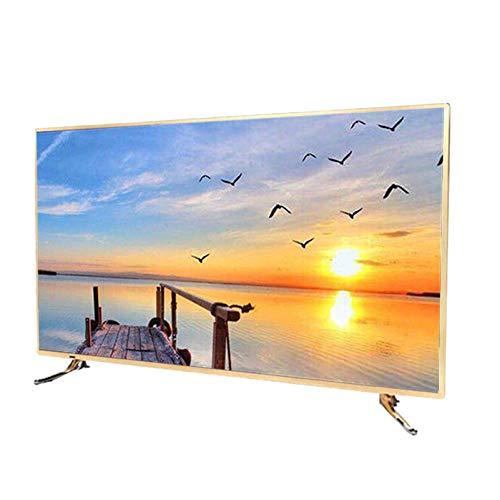 Televisor LED Inteligente 4K UHD Ultra HD,32/42/46/50/60/65 Pulgadas Android WiFi TV,IPS TV LCD de Rayos Azules de Alta resolución a Prueba de explosiones con protección Ocular,Soporte de Pared y ba