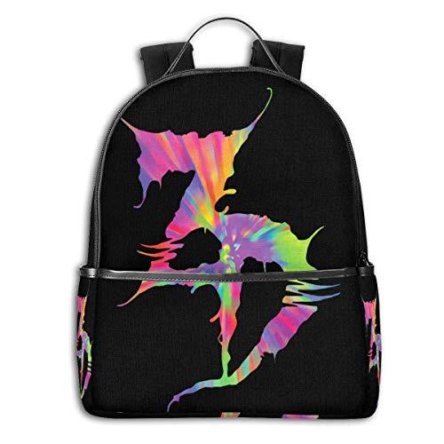 Shichangwei Zedsdead Backpack 3D Full-Print Backpack Campus School Bag Casual Backpack Gym Travel Hiking Backpack