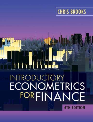 Compare Textbook Prices for Introductory Econometrics for Finance 4 Edition ISBN 9781108436823 by Brooks, Chris