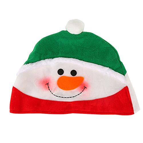 P/ère No/ël /à Bande dessin/ée///élans//Chapeau de No/ël Bonhomme de Neige pour Enfants Petits S-Kids Snowman ZREAL Chapeau /à LED avec lumi/ère de No/ël