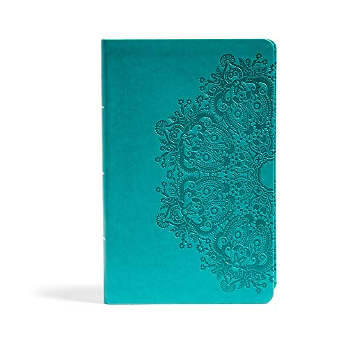 Compare Textbook Prices for CSB Large Print Personal Size Reference Bible, Teal LeatherTouch Large type / Large print Edition ISBN 9781433647697 by CSB Bibles by Holman