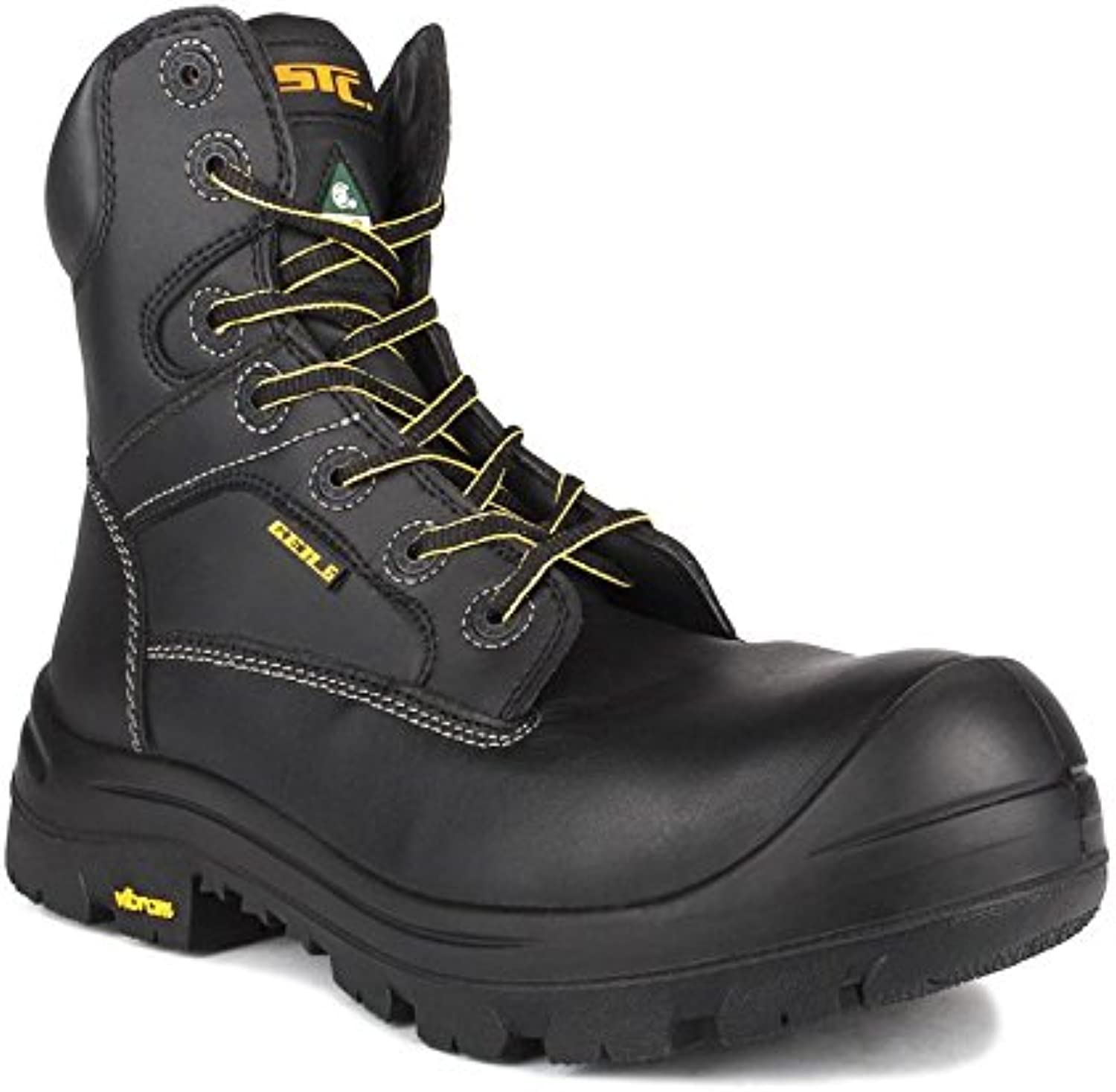 STC Morgan Men's Work Boot CSA, Black