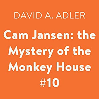 Cam Jansen: the Mystery of the Monkey House #10 audiobook cover art