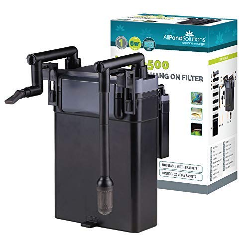 All Pond Solutions Aquarium Hang on Back External Filter...