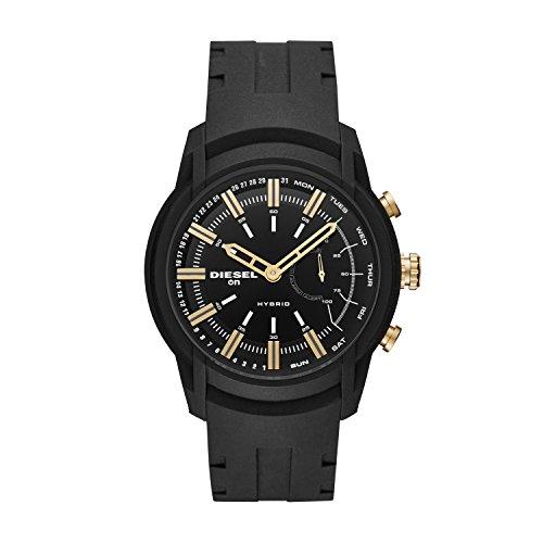 Diesel Reloj Analógico para Hombre de Cuarzo con Correa en Silicona DZT1014
