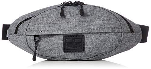 [レジスタ] ミニウエストポーチ メンズ おしゃれ 軽量 小さめ ウエストバッグ ななめがけ きれいめ 黒 グレー ブラウン 3カラー 589