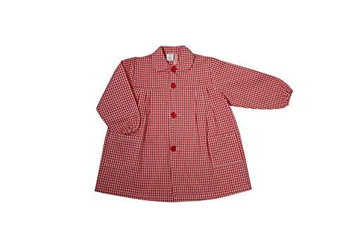 GRUPO MARBLAN BABI Escolar Infantil Cuadro Vichy (Rojo, 4 (5 AÑOS))