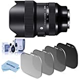 14-24mm f/2.8 DG DN ART Lens - Lens Hood - Case - Lens Cap - Sigma 1 Year North and South America Limited Warranty (3 Year USA Extended Warranty for a Total of 4 Years from Date of Purchase) - Haida Rear Lens ND Filter Kit for Sigma 14-24mm F/2.8 Len...
