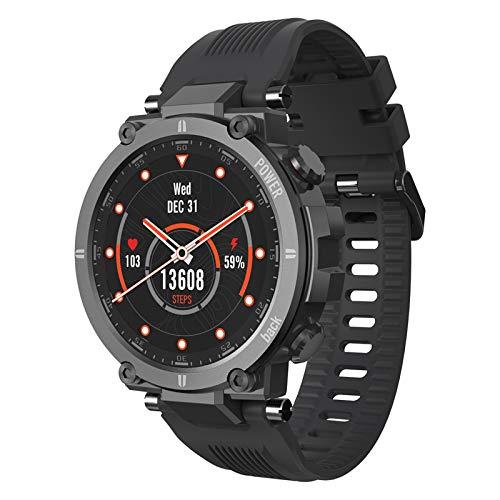 OPALLEY Smart Armbanduhr Herren Damen Fitness Tracker 1.3 Zoll Voll Touchscreen, Pulsmesser Schlafmonitor, Tracker mit Schrittzähler für Damen Herren Smart Watch IP68 Wasserdicht Sportuhr fitnessuhr